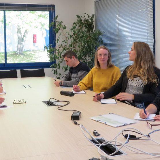 Valcor, rencontre des étudiants LP MAT/MTCT