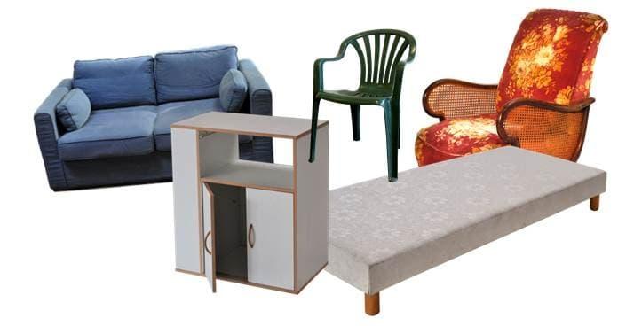La collecte du mobilier en déchèterie